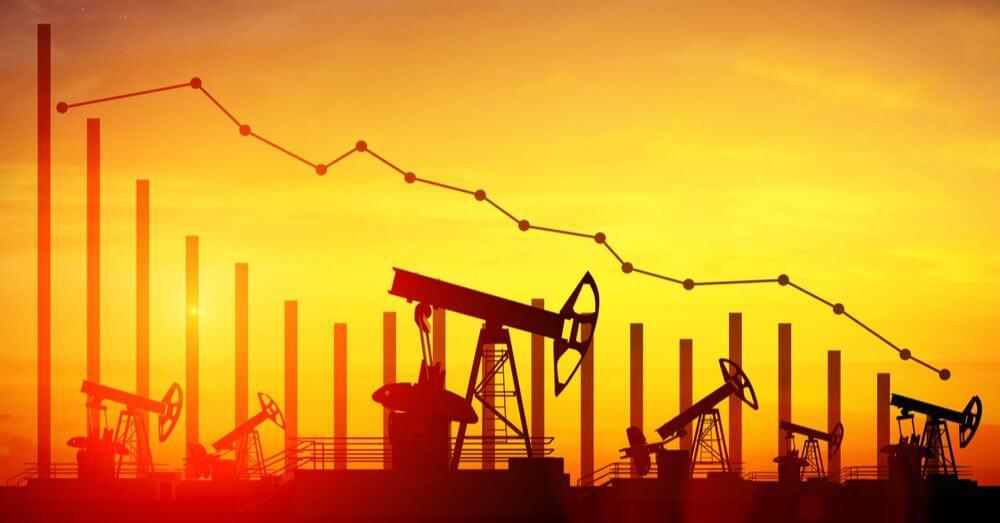 L'exploitation pétrolière dans l'illustration du graphique