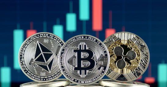 Altcoins ETH et XRP avec bitcoin