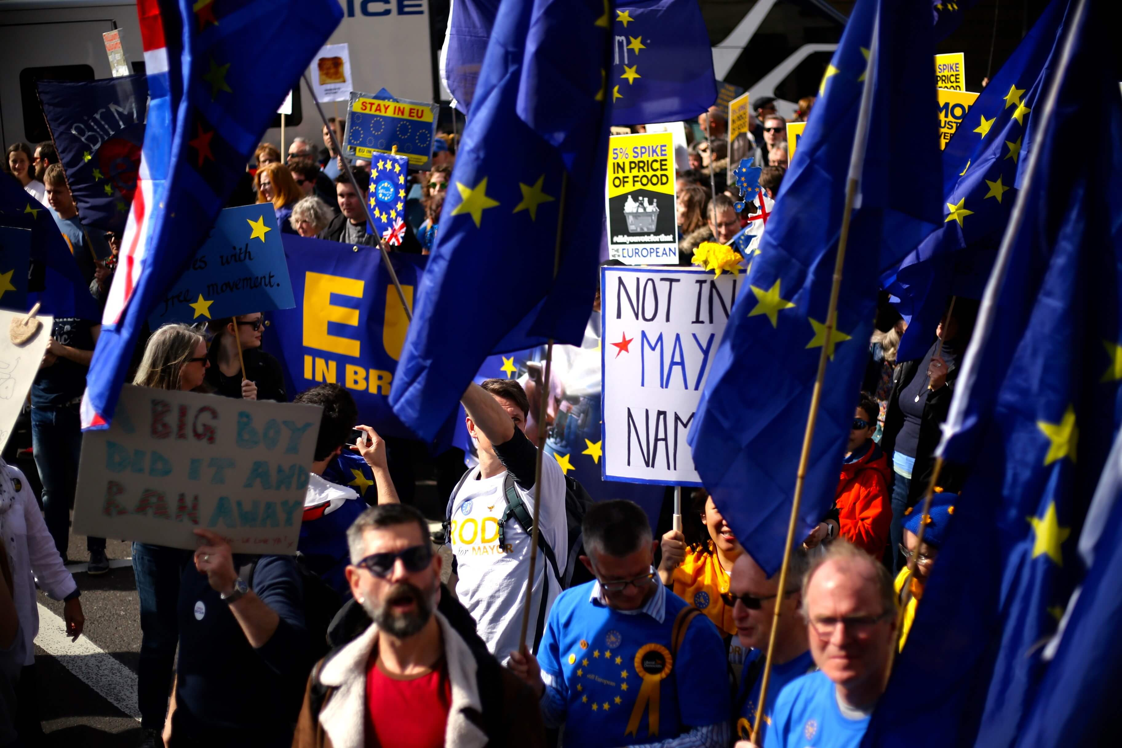 Brexit protests