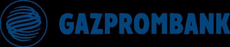 Logo de GazpromBank. La filiale suisse se lance dans les cryptomonnaies
