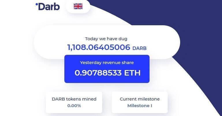 Système de rémunération Darb grâce au DARB coin