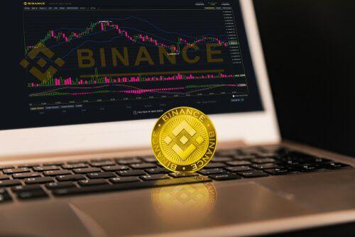 binance coin and graph