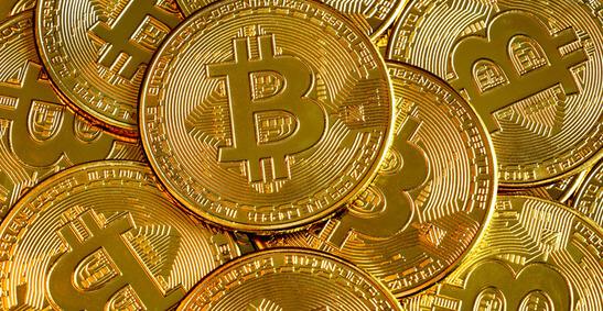 Une image d'une pile de Bitcoins